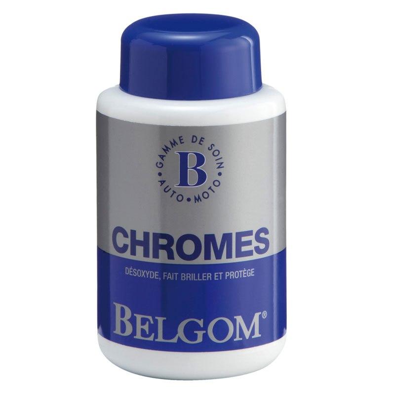 Produit Entretien Belgom Chromes 250 Ml