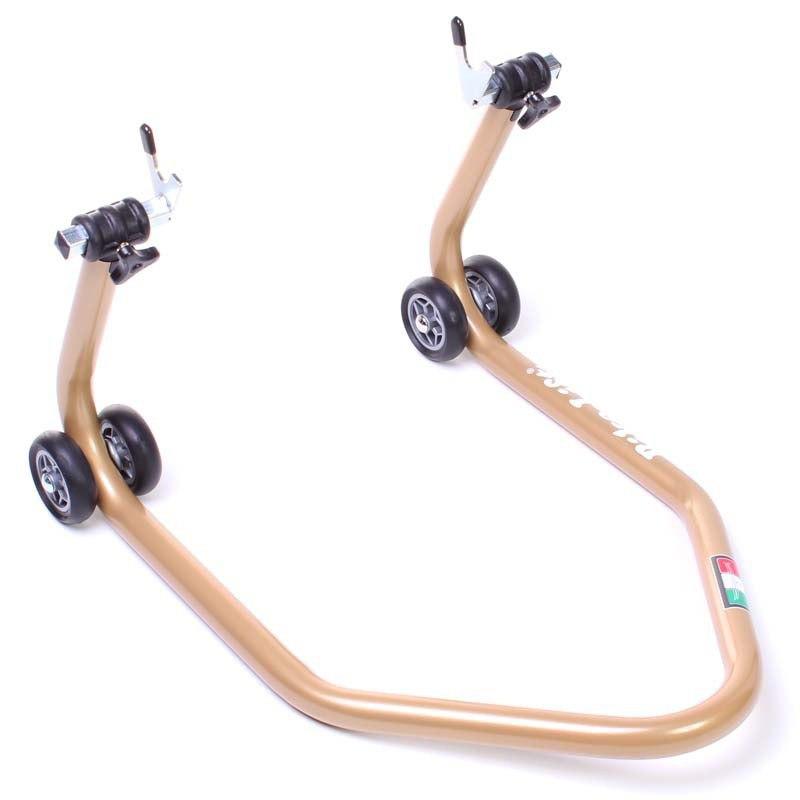 b quille bike lift rs 17 or avec support v outillage et entretien. Black Bedroom Furniture Sets. Home Design Ideas