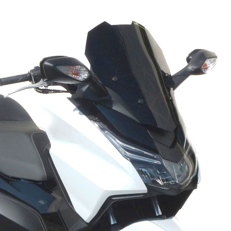 Pare brise Bullster racing noir opaque