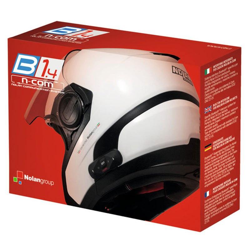 Intercom Nolan N-com B1.4 Solo Pour Les Casques N104 Absolute / N104 Evo / N104 / N87 / N44 Evo / N44 / N40 Full / N40/ N40.5 Gt / N40.5