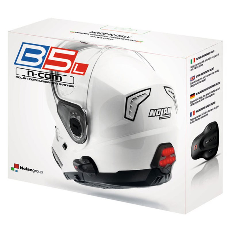 Intercom Nolan N-com B5l Pour Les Casques N104 Absolute / N104 Evo / N104 / N87 / N44 Evo / N44 / N40 Full / N40 / N40.5 Gt / N40.5