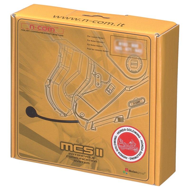 Intercom Nolan N-com Mcs Ii Goldwing N104 Absolute / N104 Evo / N87 / N44 / N44 Evo / N40 / N40 Full / N40.5 Gt / N40.5 / N91 / N90 / N90.5