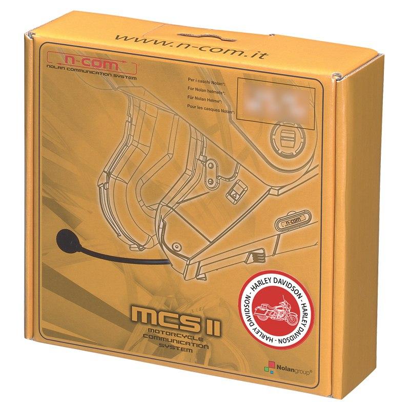 Intercom Nolan N-com Mcs Ii Harley Davidson - N104 - N87 - N44 -n40