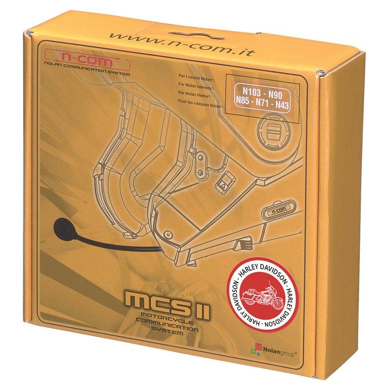 Intercom Nolan N-com Mcs Ii Harley Davidson - N103 - N91 - N90 - N86 - N85 - N71 - N43