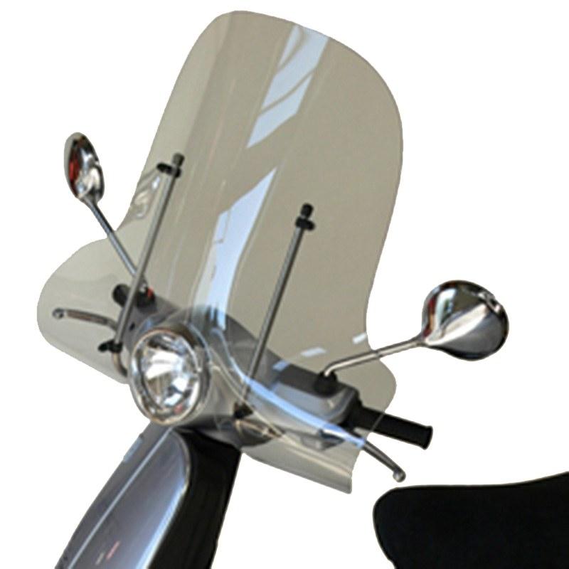 Pare Brise Bullster Haute Protection Noir Opaque +47cm