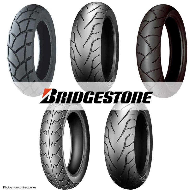 Pneu Bridgestone Hoop B01 100/80 -10 (53j) Tl