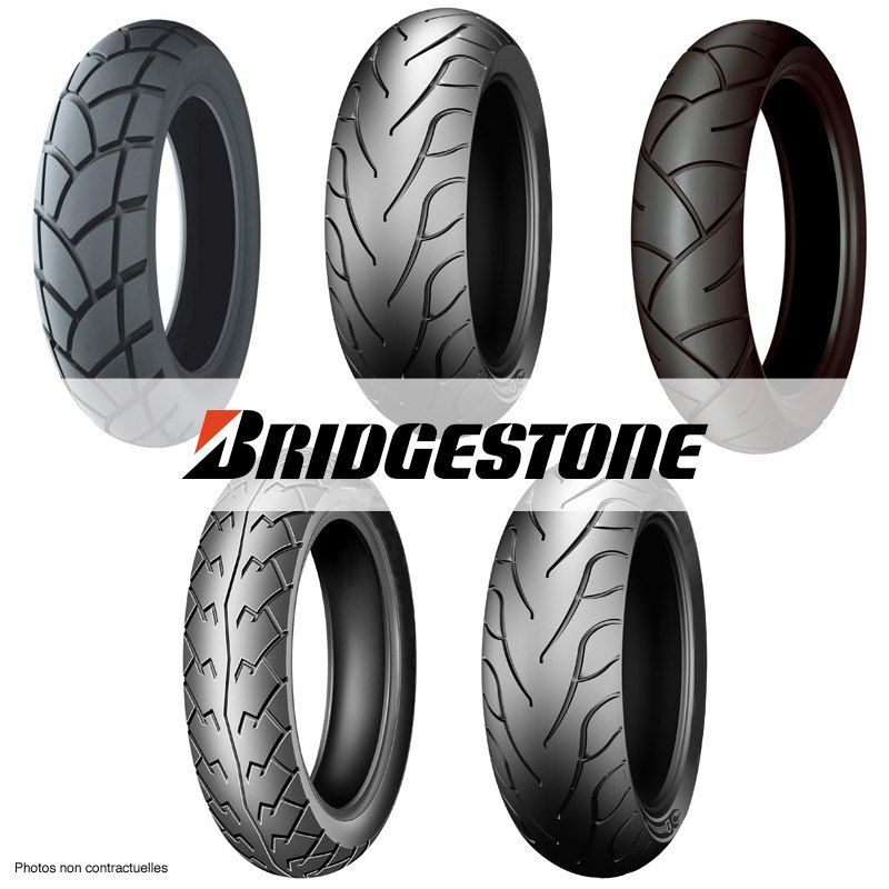 Pneu Bridgestone Hoop B01 90/90 -10 (50j) Tl