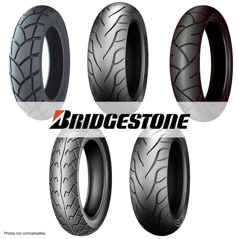 Pneu Bridgestone Exedra G547 110/80 -18 (58v) Tl