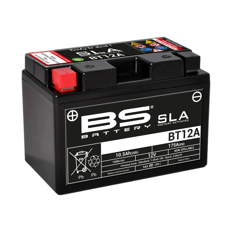 Batterie BS Battery SLA YT12A-BS - BSBT12A-FA