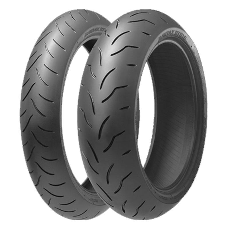 Pneu Bridgestone Battlax Bt 016 Pro 150/60 Zr 17 (75w) Tl