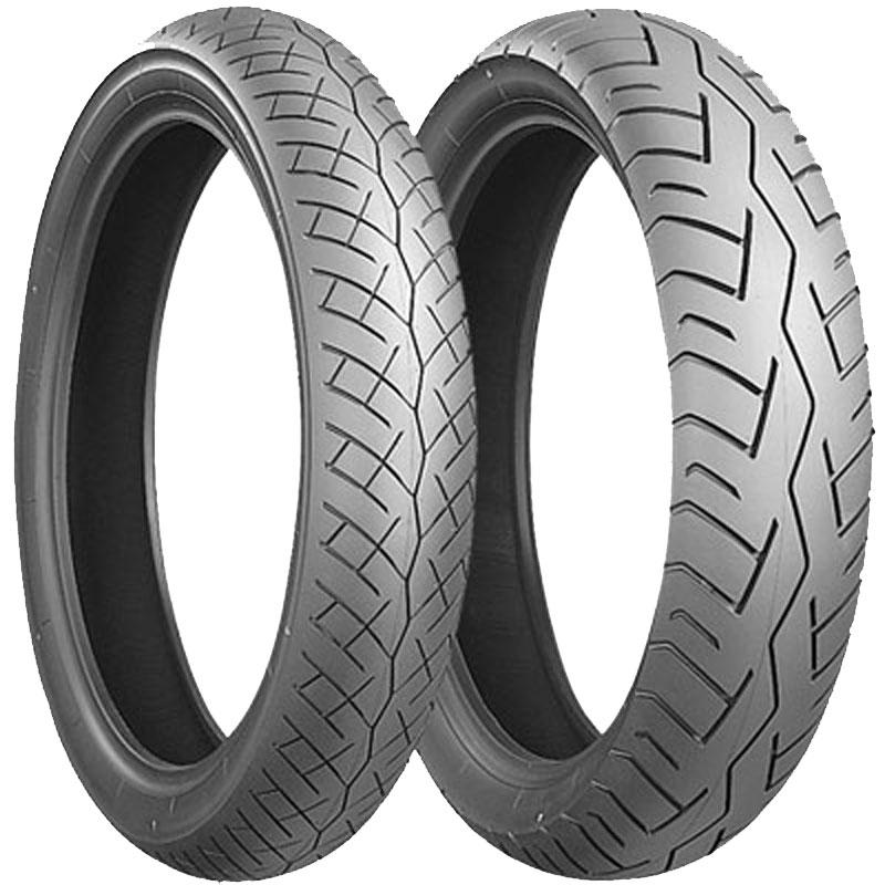 Pneu Bridgestone Battlax Bt 45 110/80 - 18 (58h) Tl
