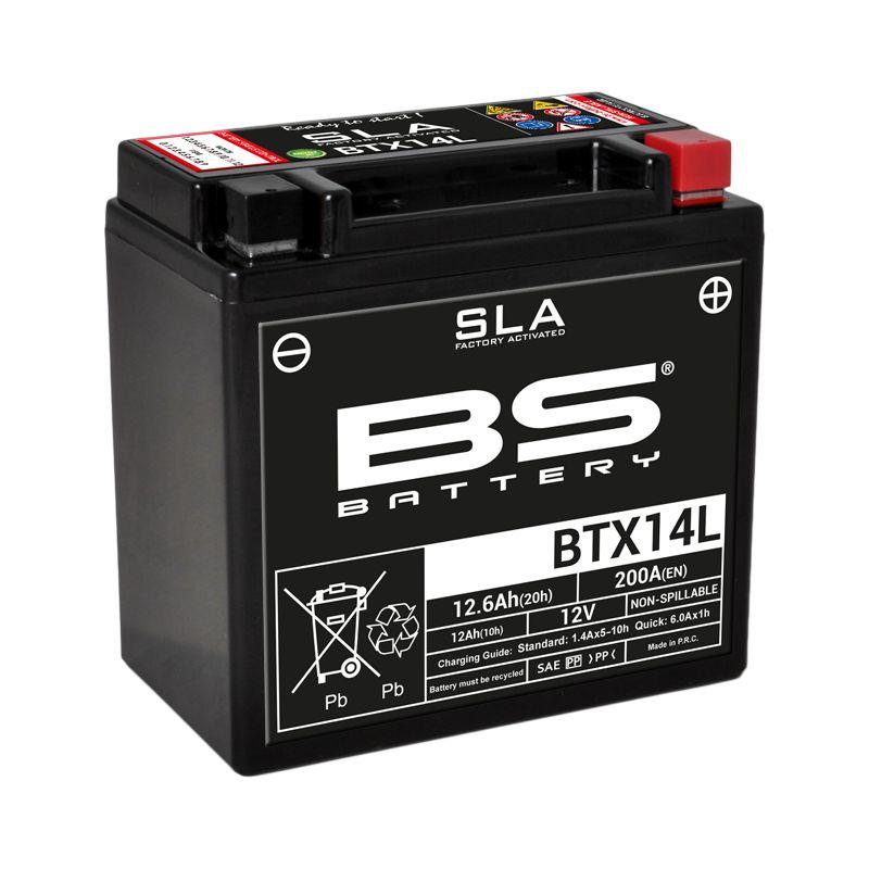 Batterie BS Battery SLA YTX14L-BS