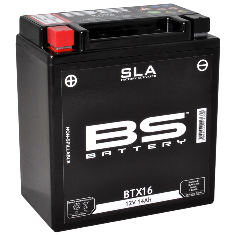 Batterie BS Battery SLA YTX16-BS
