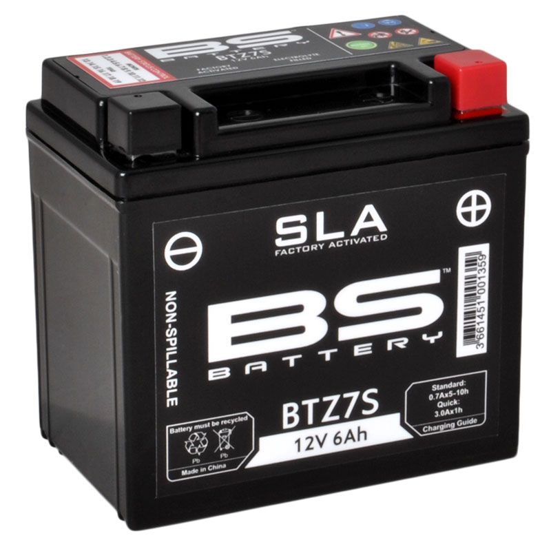 Batterie BS Battery SLA YTZ7S