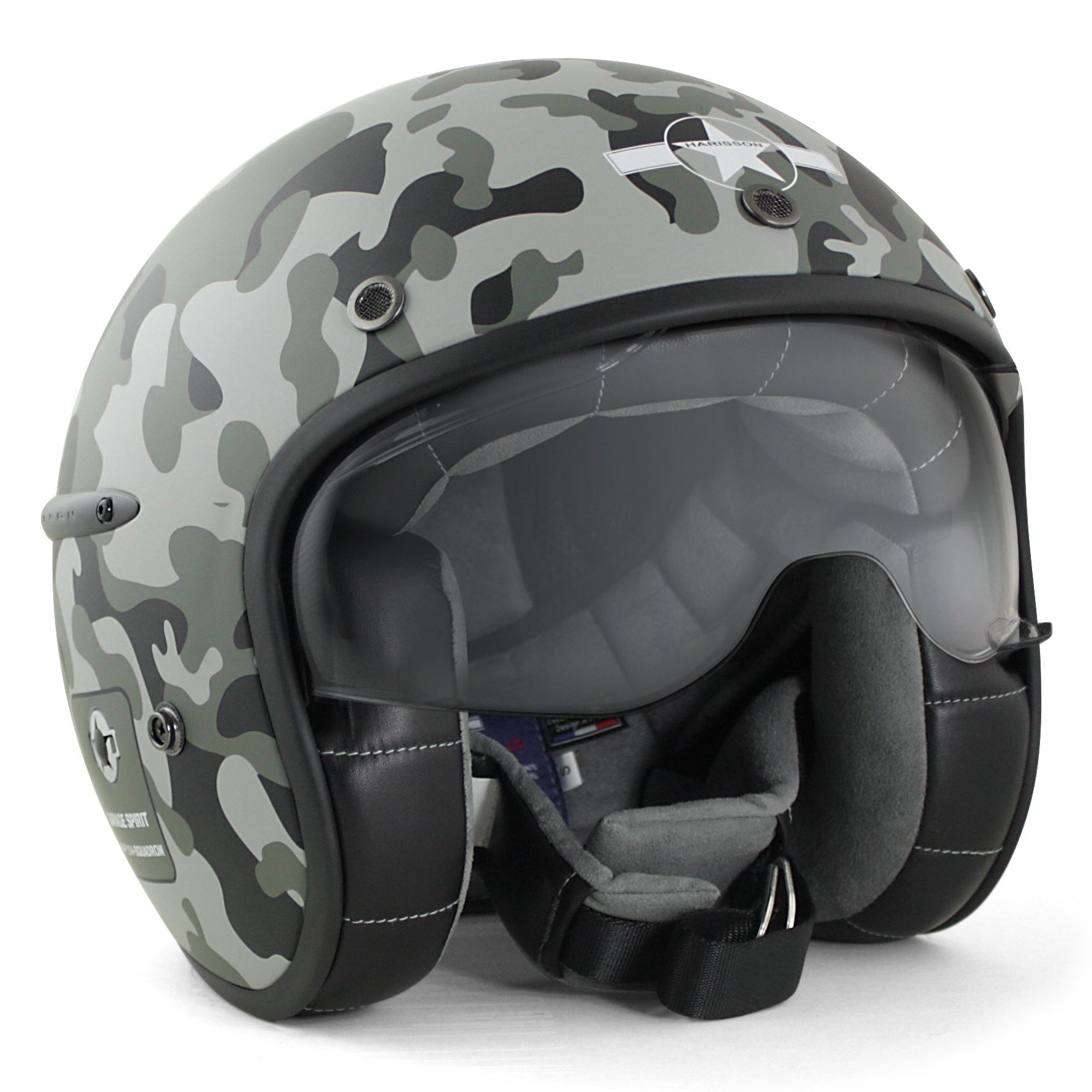 Casque Harisson Camo