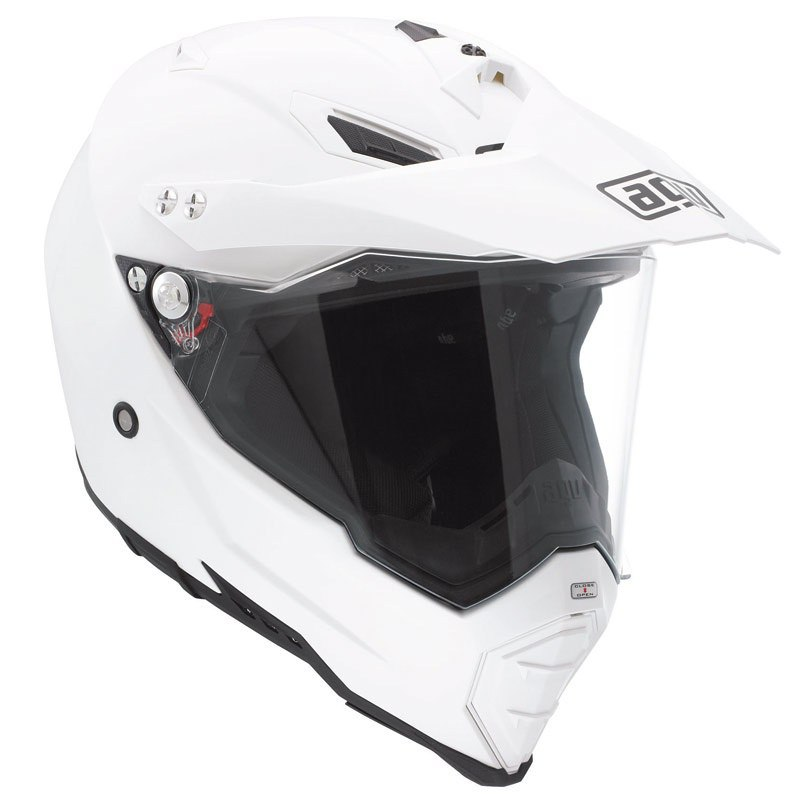 Casque Agv Ax-8 Dual Evo - Mono White
