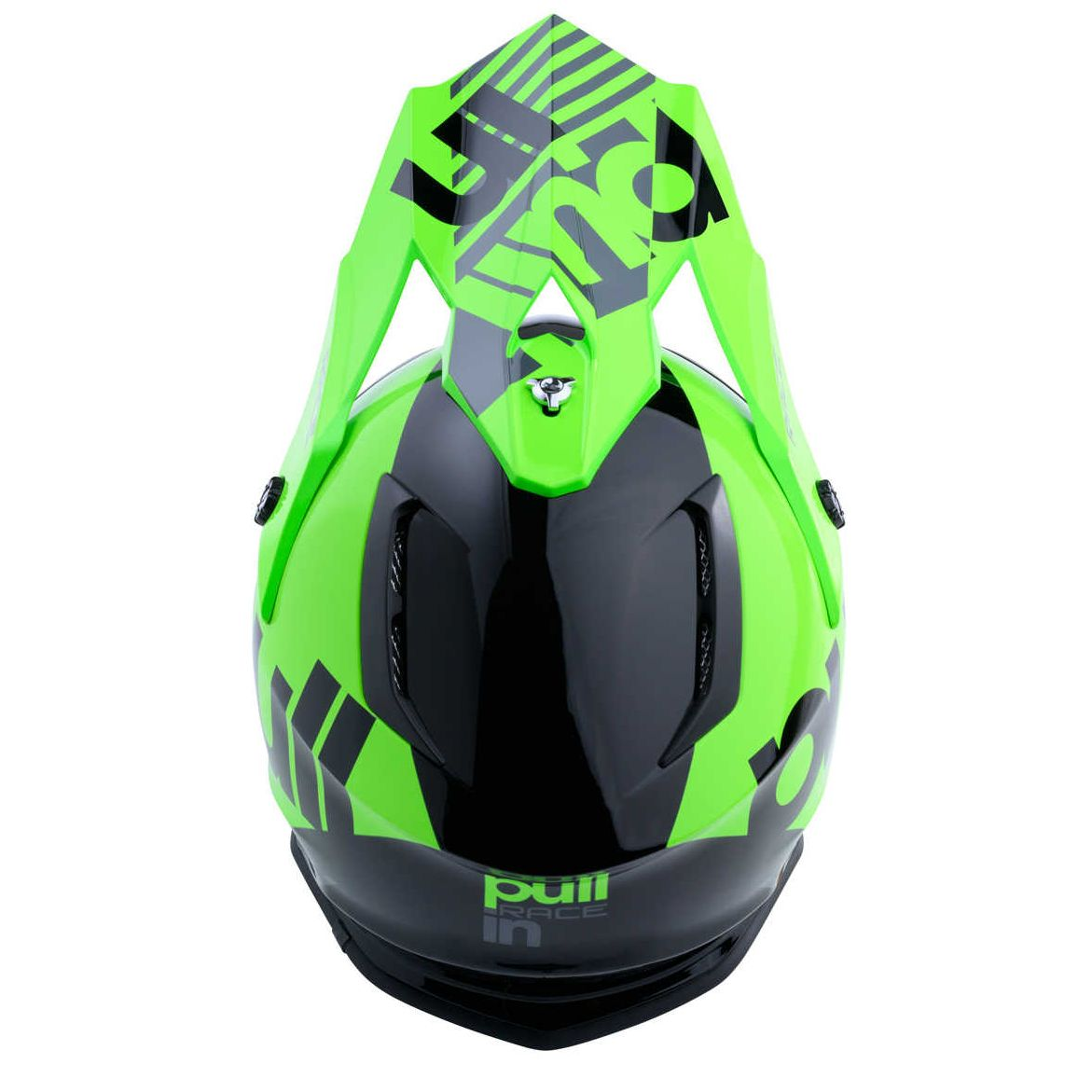 Casque cross Pull-in RACE CHARCOAL 2020