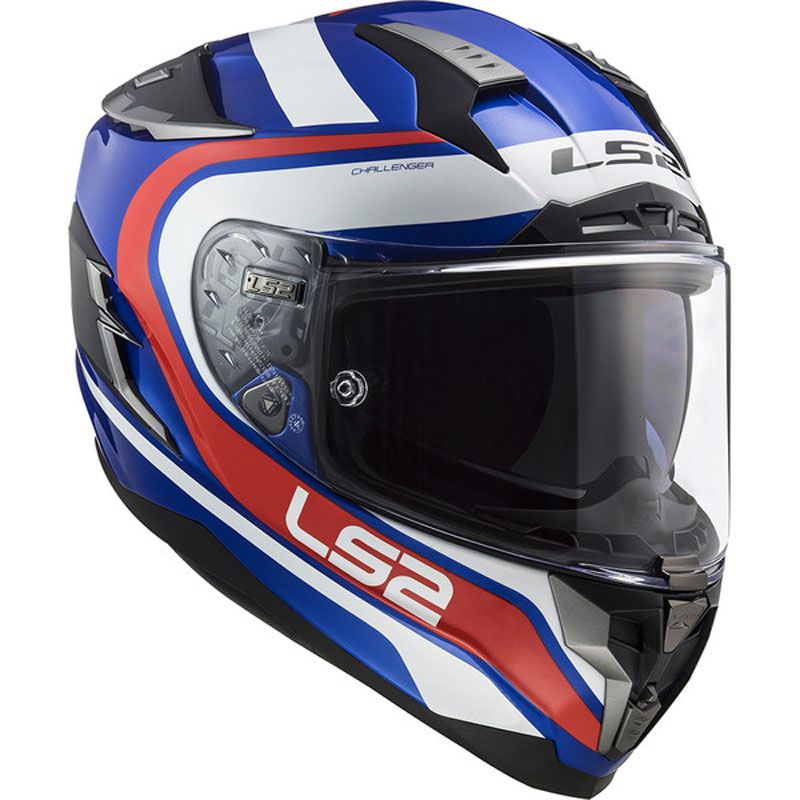 Casque Ls2 Ff327 Challenger Fusion Gloss Casque Intégral