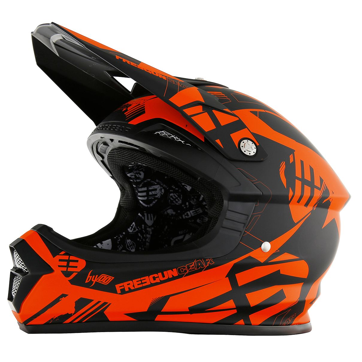 Casque cross Shot destockage XP4 LINK NEON ORANGE MAT  2017