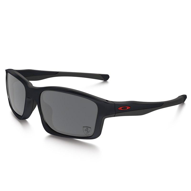 Lunettes De Soleil Oakley Chainlink - Ferrari Collection - Steel - Black Iridium