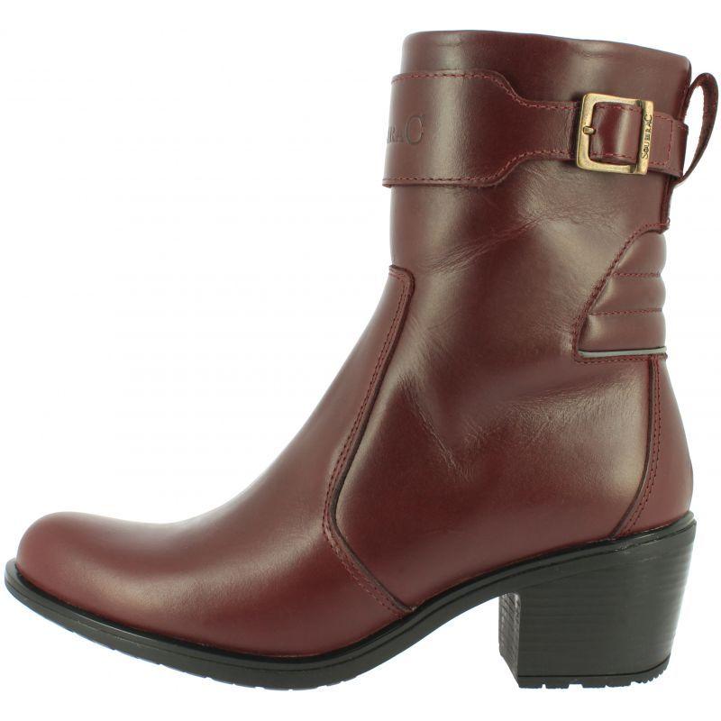 Demi bottes Soubirac Kate camel Bottes et chaussures femme