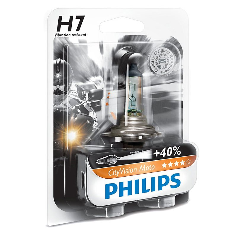 Ampoule Philips City Vision H7 12v 55w Px26d