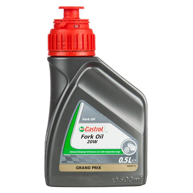 Huile De Fourche Castrol Fork Oil 20w 500 Ml