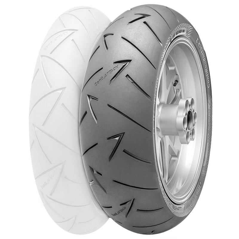 pneumatique continental conti road attack 2 180 55 zr 17 tl 73w pneus roues. Black Bedroom Furniture Sets. Home Design Ideas