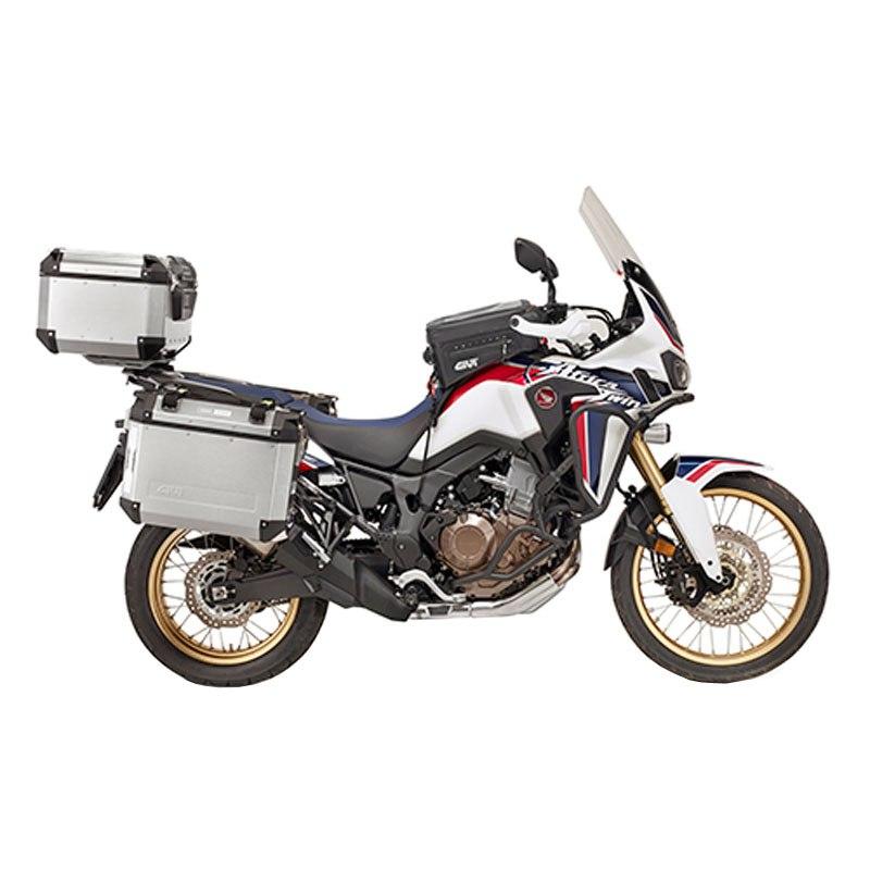 support valises givi pour valise trekker outback bagagerie moto. Black Bedroom Furniture Sets. Home Design Ideas