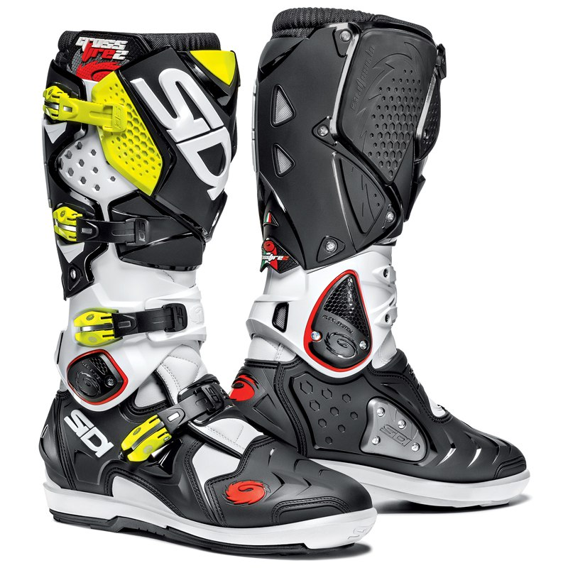 bottes cross sidi destockage crossfire 2 srs 2017 enduro. Black Bedroom Furniture Sets. Home Design Ideas