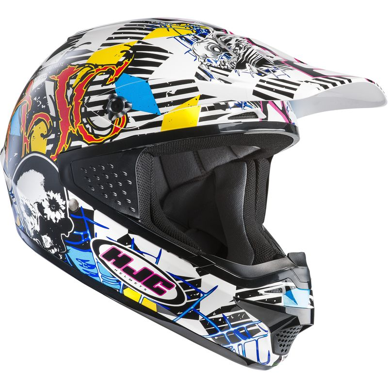 Casque Cross Hjc Cs Mx - Clown
