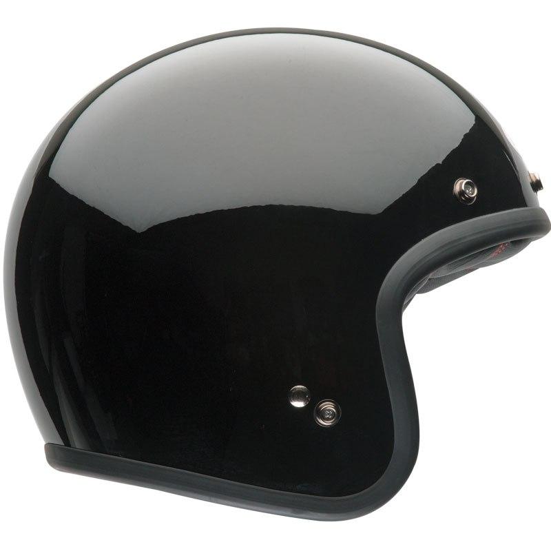 casque bell custom 500 solid casque jet. Black Bedroom Furniture Sets. Home Design Ideas