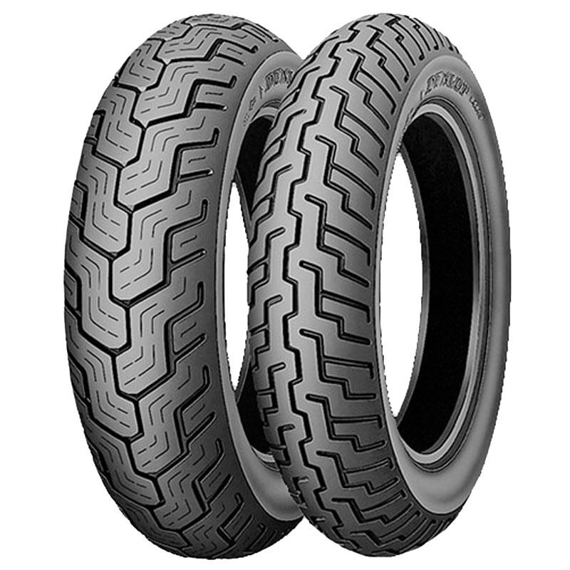Pneumatique Dunlop D404 130/90 S 16 (67S) TT