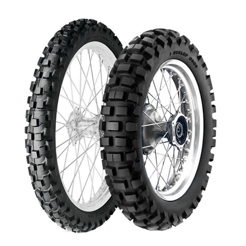 Pneumatique Dunlop D606 130/90 - 17 (68R) TT