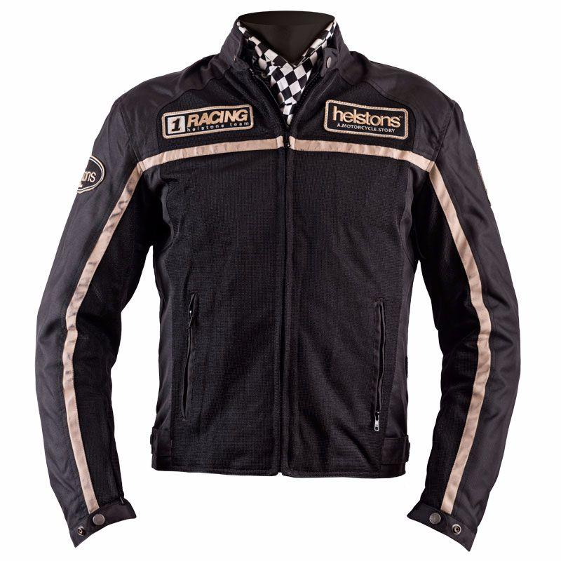 Blouson Helstons DAYTONA - textile MESH noir
