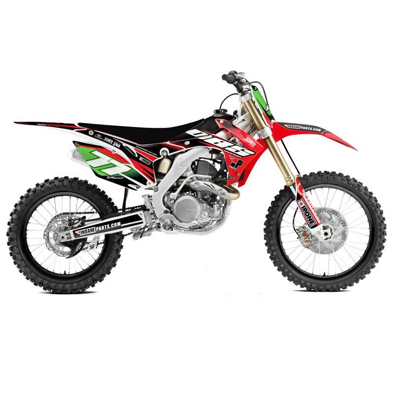 kit d co riderunik dbs partie cycle moto cross. Black Bedroom Furniture Sets. Home Design Ideas