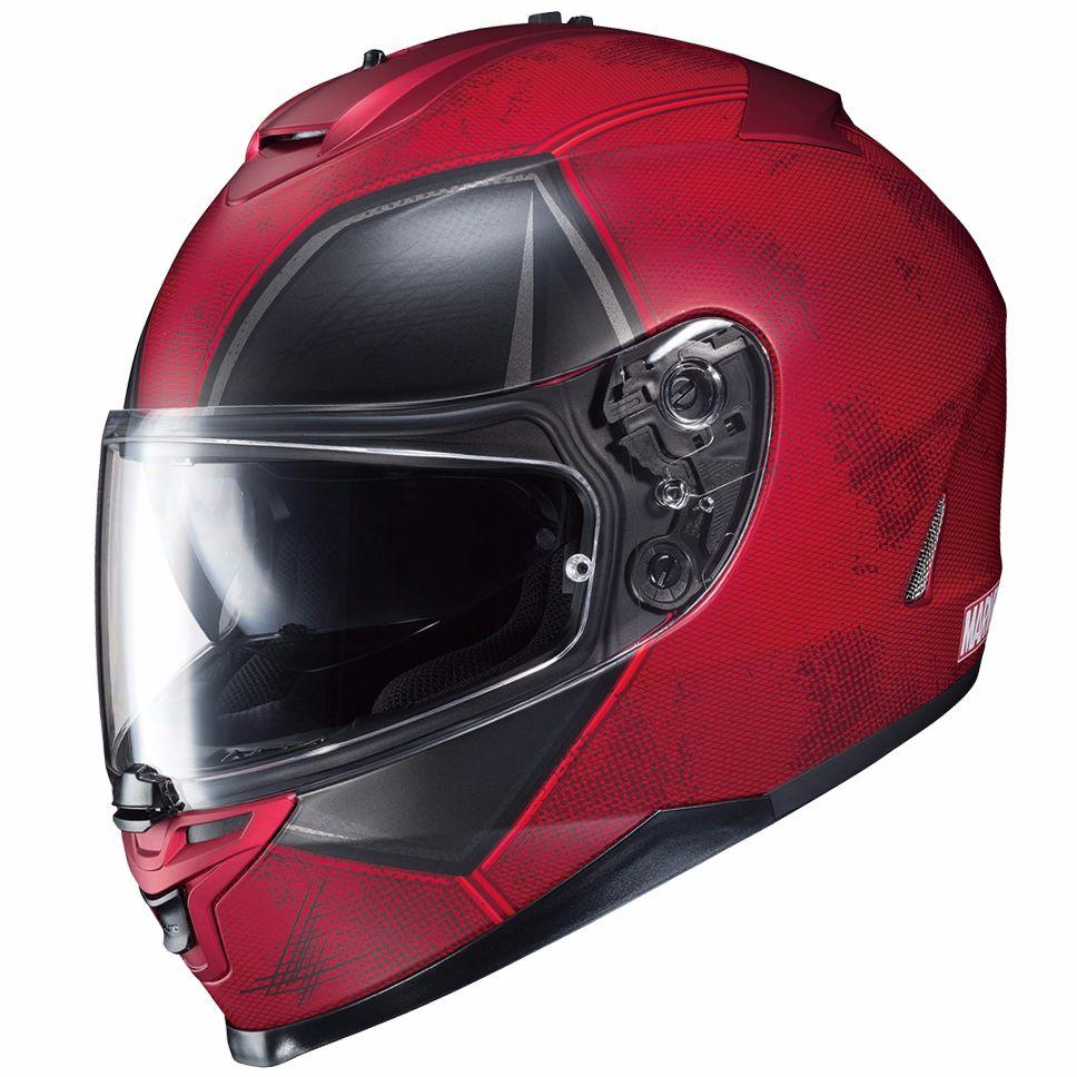 Casque moto deadpool
