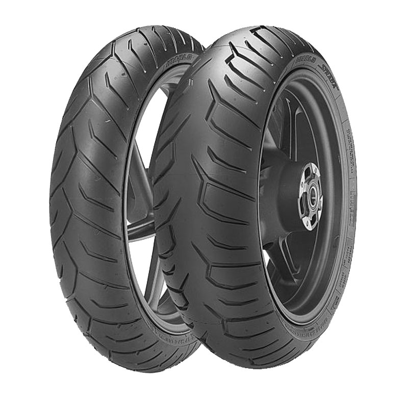 Pneumatique Pirelli DIABLO 140/70 - 14 (68S) TL RENFORCE