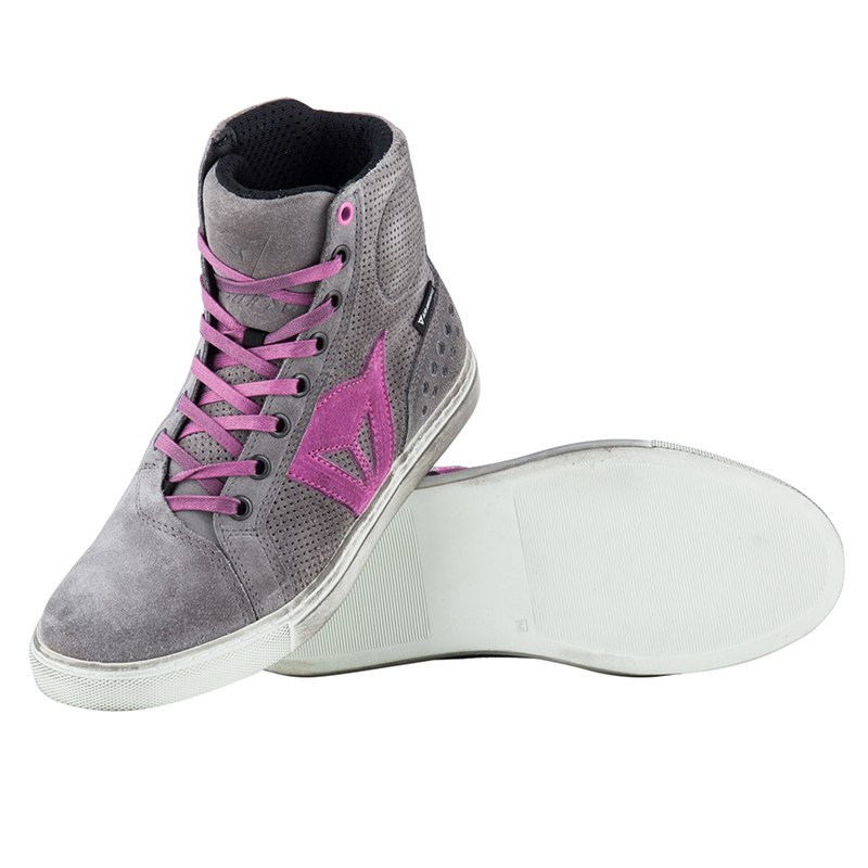 Bottes DAINESE Street Biker Air Lady Gray / Orchid 40 tRR7hzS9