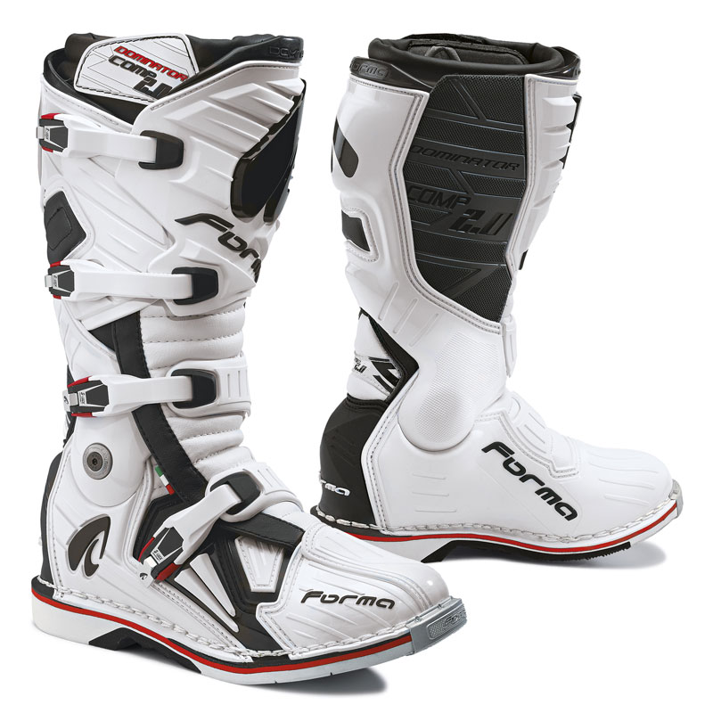 Bottes Cross Forma Dominator Comp 2.0 Blanc
