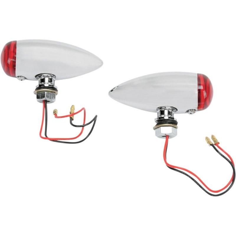 Clignotant Drag Specialties Chrome Marker Lights
