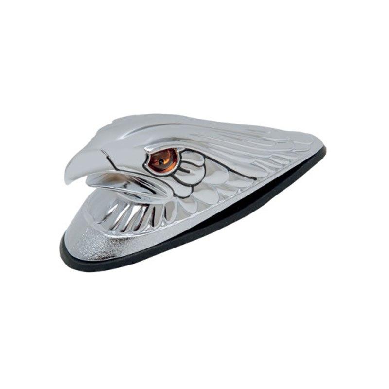 Emblème Drag Specialties Grand Aigle Illuminé Pour Garde Boue Avant