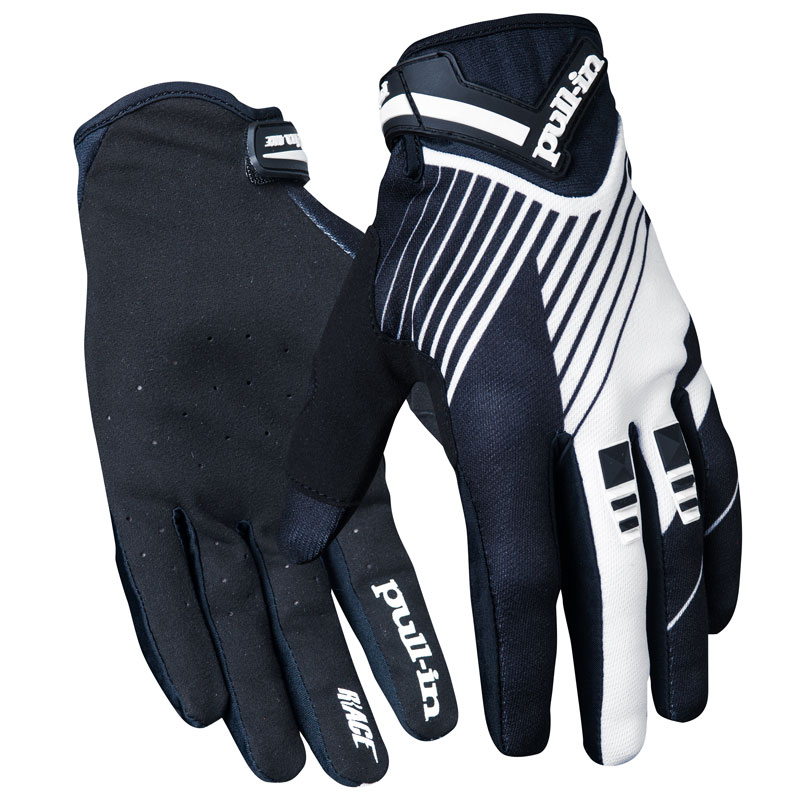 Gants Cross Pull-in Stripes Black