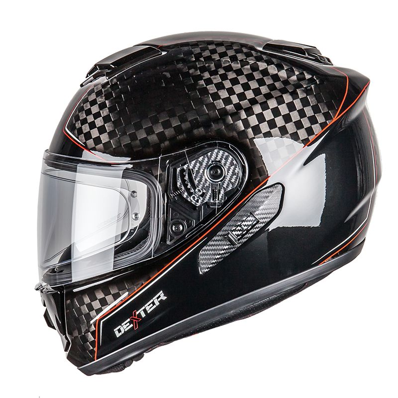 Casque Dexter Nucleon Carbon Mercury