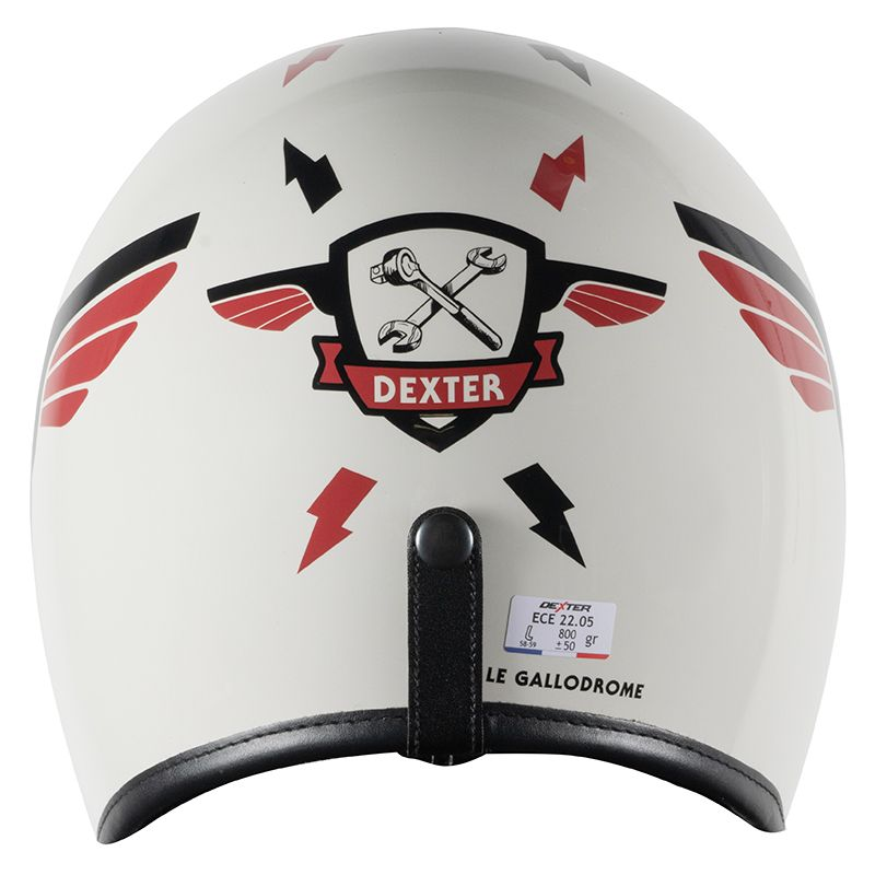Casque Dexter QUARKS STICKER