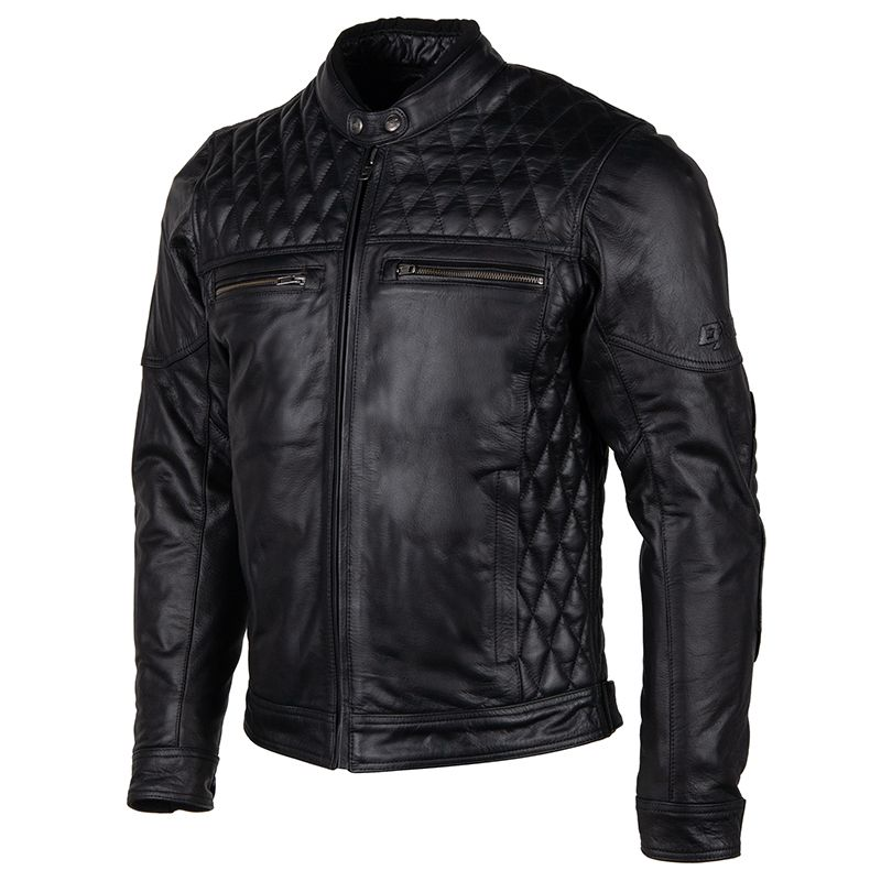 Bouson cuir DXR Blacksmith  Dxr0231-noir-1