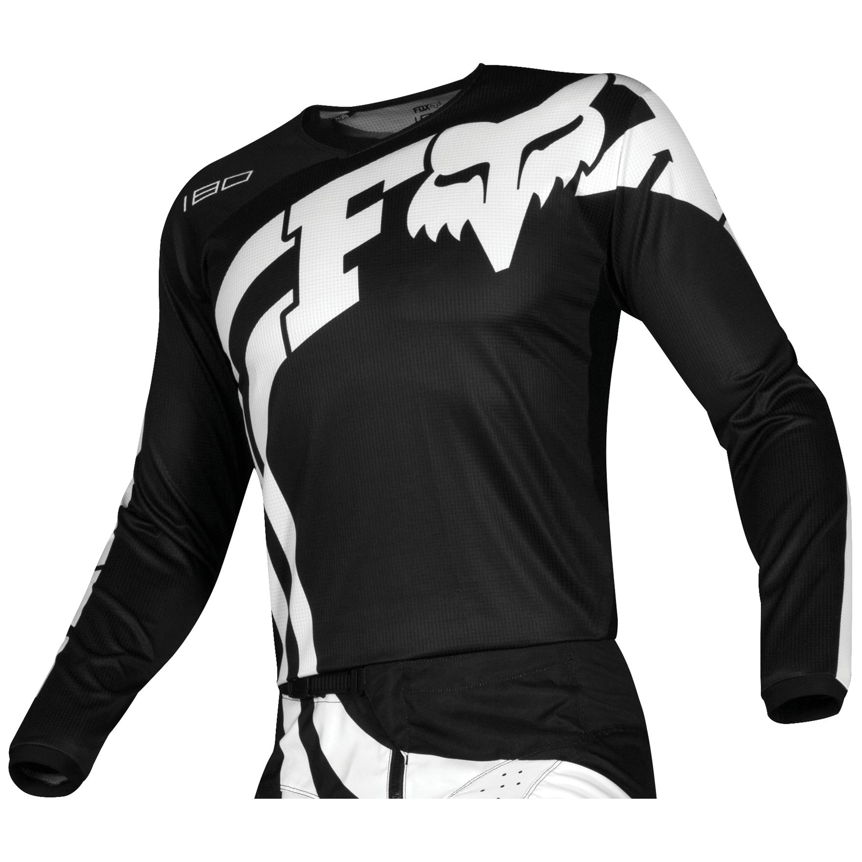 Maillot cross Fox 180 - COTA - BLACK 2019