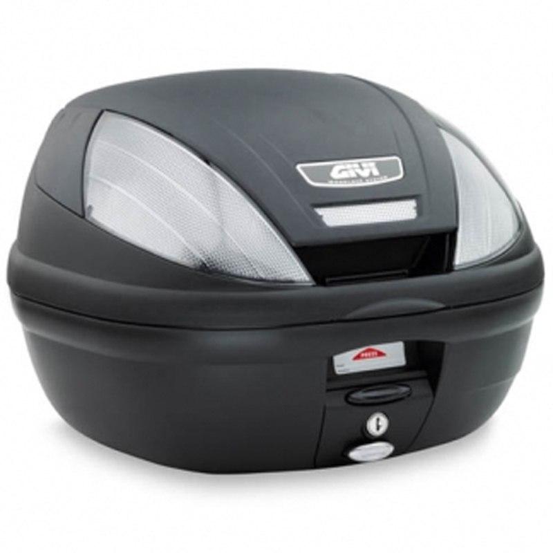 top case givi monolock e370 tech bagagerie moto. Black Bedroom Furniture Sets. Home Design Ideas
