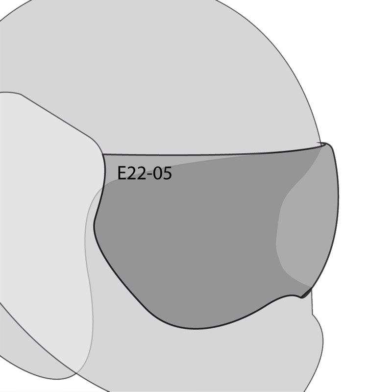Ecran Casque Roof Cristal Et Solaire - Ro5 Boxer V8