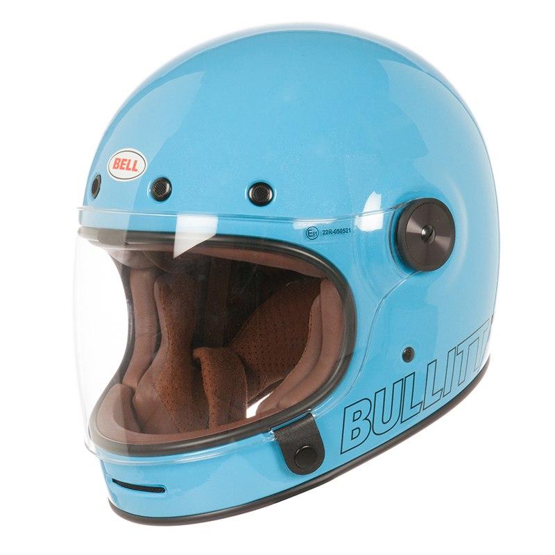 Casque Bell Destockage Bullitt Retro Blue